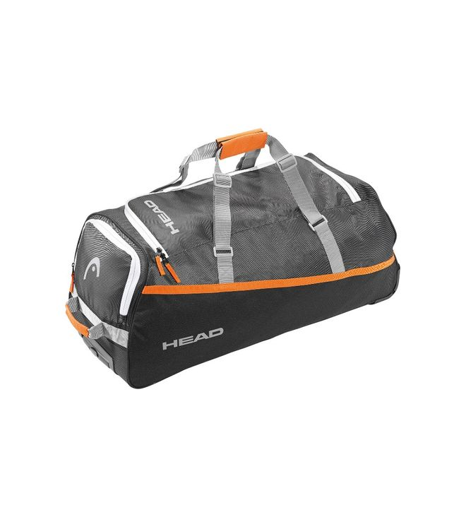 Ski Travelbag Silver/Yellow 73L